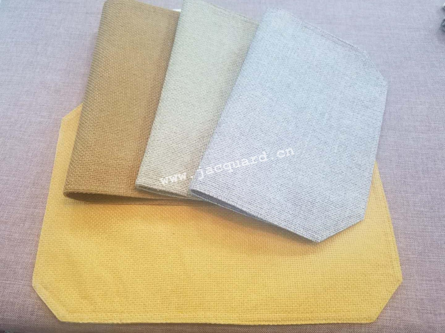 Plain Dyed Heat Insulation Table Mat Place Mat Doily for Household use